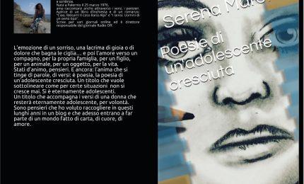 """Esce """"Poesie di un'adolescente cresciuta"""" di Serena Marotta"""