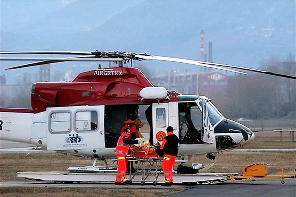 Elicottero si scontra con aereo in Val d'Aosta