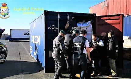 A Livorno sequestrati 600 chili di cocaina, nascosta nel caffè