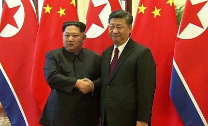 Xi in Nordcorea: Cina centrale per soluzione crisi nucleare. Prossima settimana summit con Trump