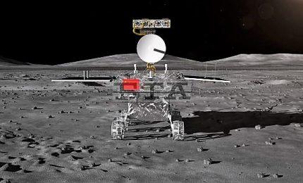 La sonda cinese Chang'e-4 atterrata sul lato nascosto della Luna