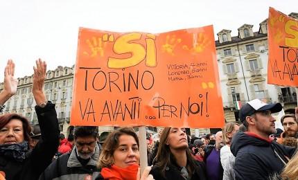 """""""Madamin"""" in piazza: """"Piemonte è compatto per il sì"""""""