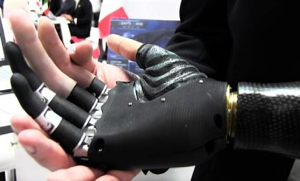 Hitech made in Italy, la mano bionica stampata in 3d