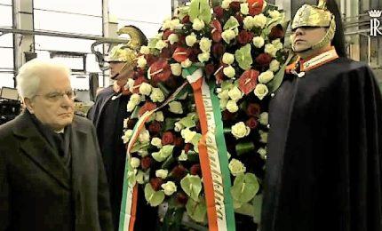 Mattarella a Genova a 40esimo anniversario assassinio Guido Rossa