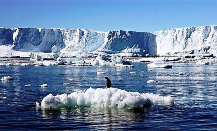 Riscaldamento globale, Antartide si scioglie a ritmi mai visti
