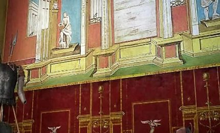 A Pompei riapre la Schola Armatorarum, l'edificio crollò nel 2010