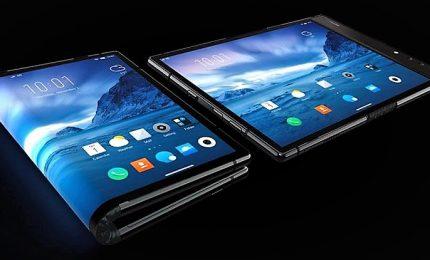 Tv srotolabile, smartphone e schermi flessibili