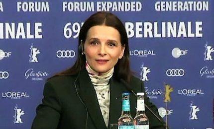 """Berlinale, Binoche: """"bel passo avanti"""" 7 film di registe donne"""
