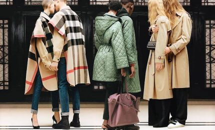 Burberry a Londra, Tisci tiene banco nel british day