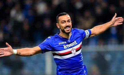 Quagliarella si riprende l'azzurro, Mancini lo premia