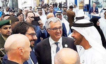 Il made in Italy alla fiera difesa e sicurezza di Abu Dhabi
