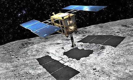 La sonda giapponese Hayabusa 2 atterrata su Ryugu