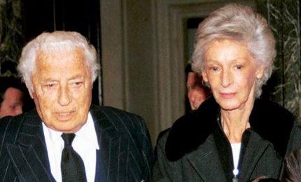 Morta a Torino Marella Agnelli Caracciolo, vedova dell'Avvocato