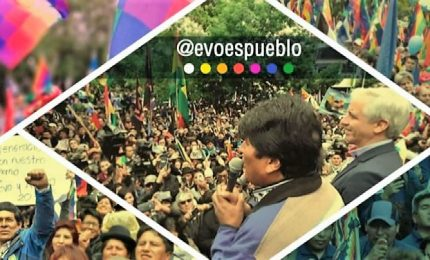 Morales incontra Maduro e conferma appoggio: golpismo dell'impero