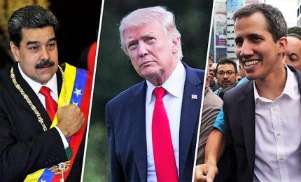 """Guaido' si appella a comunità internazionale: """"Liberiamo il Venezuela da Maduro"""". Usa: """"Il presidente ha giorni contati"""""""