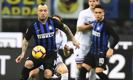 L'Inter sa vincere anche senza Icardi, Samp ko