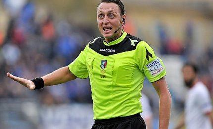 Abisso tornerà ad arbitrare ad aprile, stop Inter