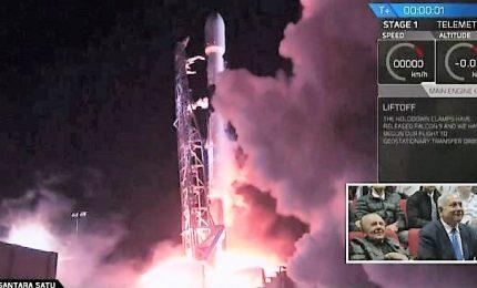 Lanciata la prima sonda lunare israeliana, arrivo 11 aprile
