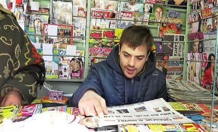 """A Napoli un giornalaio autistico: """"Vi chiedo di essere pazienti"""""""