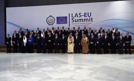 Summit Ue-Lega araba, incontro Conte-Serraj su questione Libia