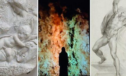 Il corpo, la vita e il trascendente: Michelangelo e Bill Viola