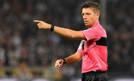 Arbitri Serie A, Mariani per Inter-Sampdoria