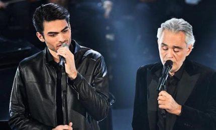 Picco d'ascolti con Andrea Bocelli e il figlio