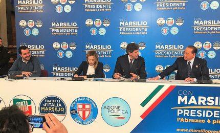 """In Abruzzo, il centrodestra c'è. Ma Salvini marca le distanze: """"Non traslabile in altre realtà"""""""
