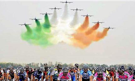 Tappa Giro d'Italia 2020 partirà da base delle Frecce Tricolori