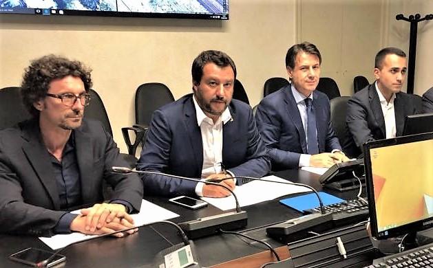 Diciotti, memoria Salvini in Giunta per le immunità. Allegati testi di Conte e Di Maio