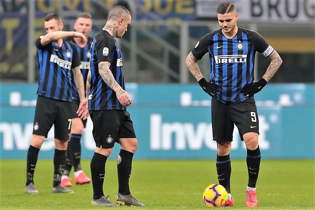 Inter esce tra i fischi da San Siro, Bologna vince 1-0