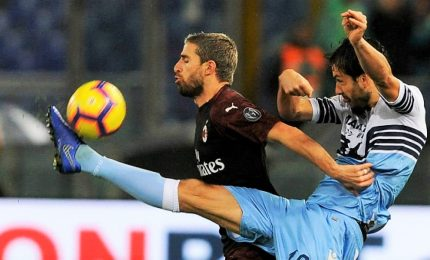 Piatek spento, Lazio spreca e Milan si salva