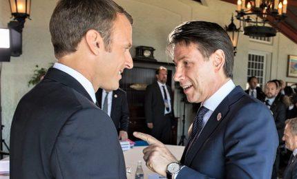 Crescita e migranti, Conte prepara incontro con Macron. Sul tavolo anche Libia e Russia