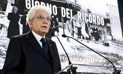 """Giornata del Ricordo, Mattarella: """"No a negazionismi, non fu ritorsione contro torti del fascismo"""""""