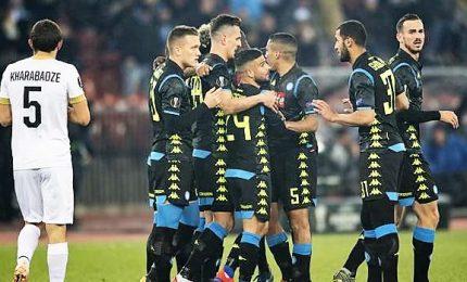 Napoli domina a Zurigo, ottavi a un passo