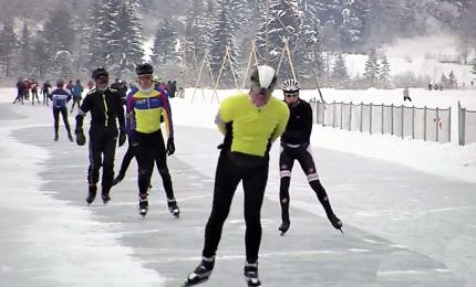 Dall'Olanda ai laghi austriaci per pattinare grazie a James Bond