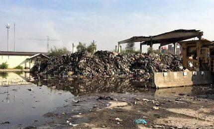 Indagine Dda su rogo area Milano: 12 arresti per traffico rifiuti