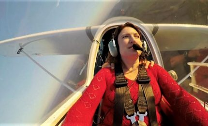La storia di Sabrina, pilota italiana non vedente, diventa un film