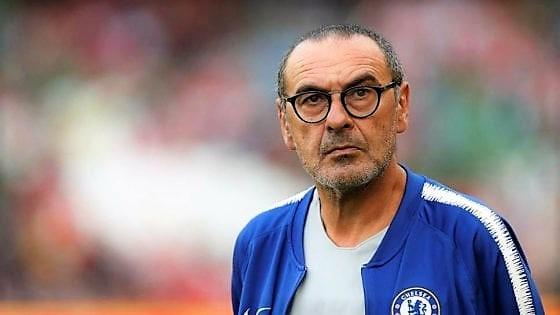 """Sarri allontana la Roma: """"Voglio restare al Chelsea"""""""