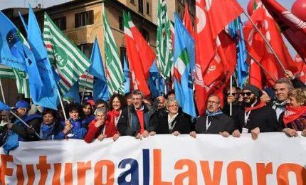 Landini: il governo ascolti la piazza, il cambiamento siamo noi