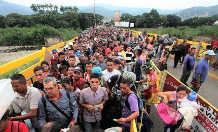 Onu: 3,4 milioni di persone fuggite dal Venezuela da inizio crisi