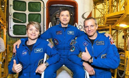 Tre nuovi astronauti sulla Stazione spaziale internazionale