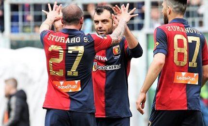 Ok Genoa e Samp: rossoblu 2-1 al Milan, doriani 2-1 al Verona