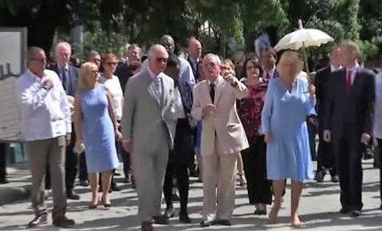 Carlo e Camilla a galà all'Avana, la prima volta dei reali a Cuba
