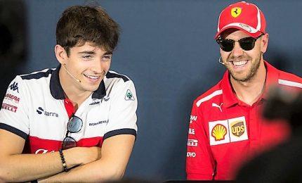 """Leclerc-Vettel è tregua, """"tutto chiarito"""""""