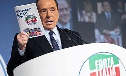 Berlusconi: parola a italiani, Pd-5S scenario pericoloso