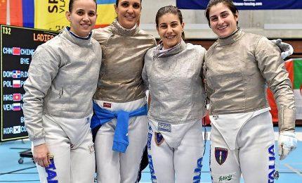 Coppa del mondo sciabola femminile, altro bronzo per l'Italia