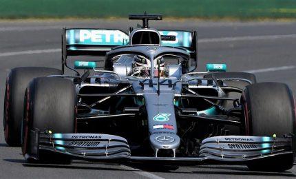 Pole tris per Bottas, Ferrari non recupera