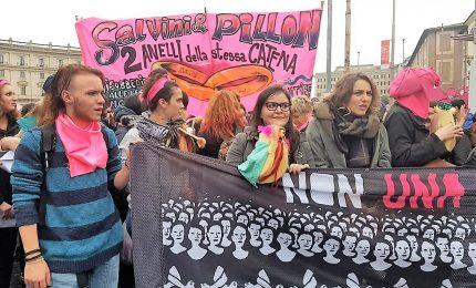 Le femministe contro il congresso mondiale delle Famiglie