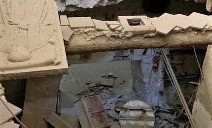 Crolla volta pavimento Chiesa cinquecentesca